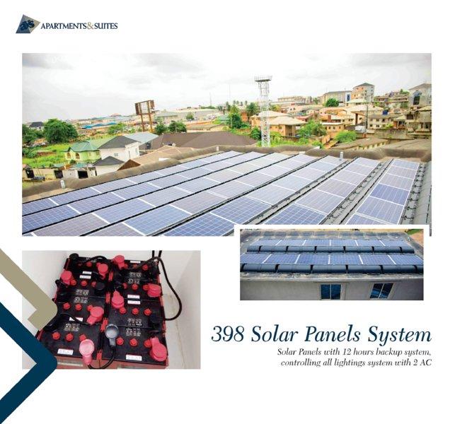 ALTERNATIVE ENERGY SUPPLY-SOLAR POWER