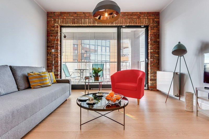 C21 - Blue Mandarin Apartments, casa vacanza a Danzica