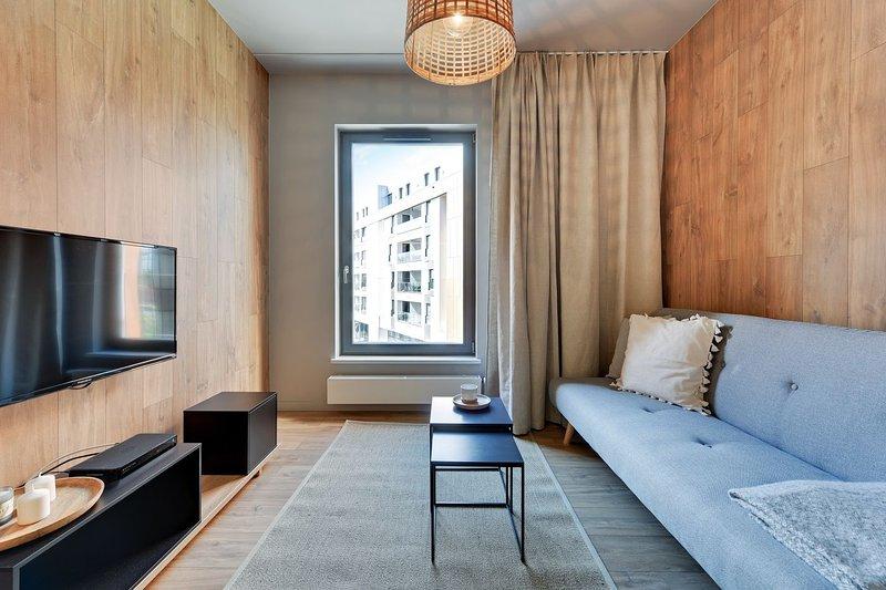 C45 with Sauna - Blue Mandarin Apartments, holiday rental in Jantar