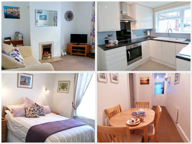 SUNNYDECK. Close to beach, town & estuary. Off road parking. Free WiFi. Sleeps 2, holiday rental in Exmouth