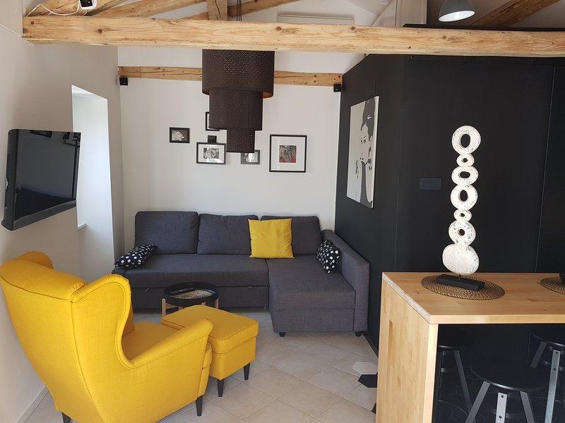 Secret garden of Piran - Apartment with garden view, holiday rental in Piran