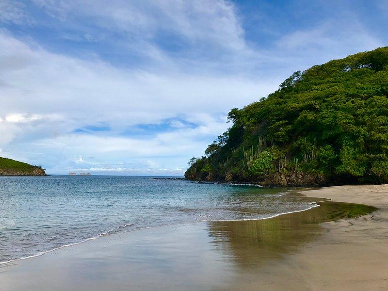 Playa Penca - 3 Minuten zu Fuß von der Wohnung entfernt