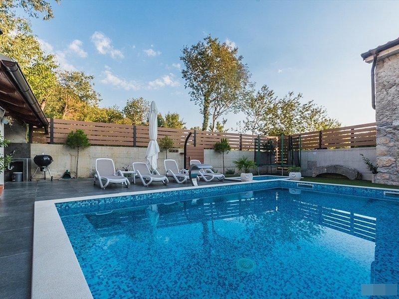 Ferienhaus 4640-1 für 6+1 Pers. in Crikvenica, vakantiewoning in Lic