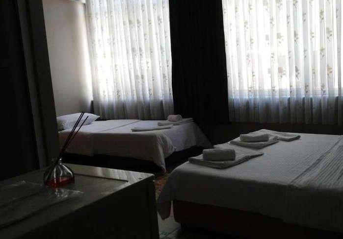 Atıcı Hotel (Double Room 2-Single Bed 2), alquiler de vacaciones en Muratpasa