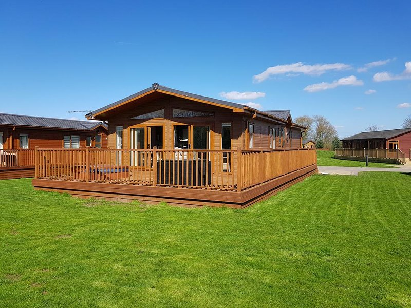 Victory Retreat Lodge, Malton, holiday rental in Old Malton