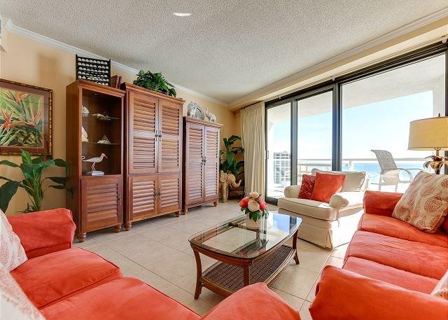 BEACHSIDE II 4342! Best views from 2 beachfront balconies~directly on beach, vacation rental in Miramar Beach