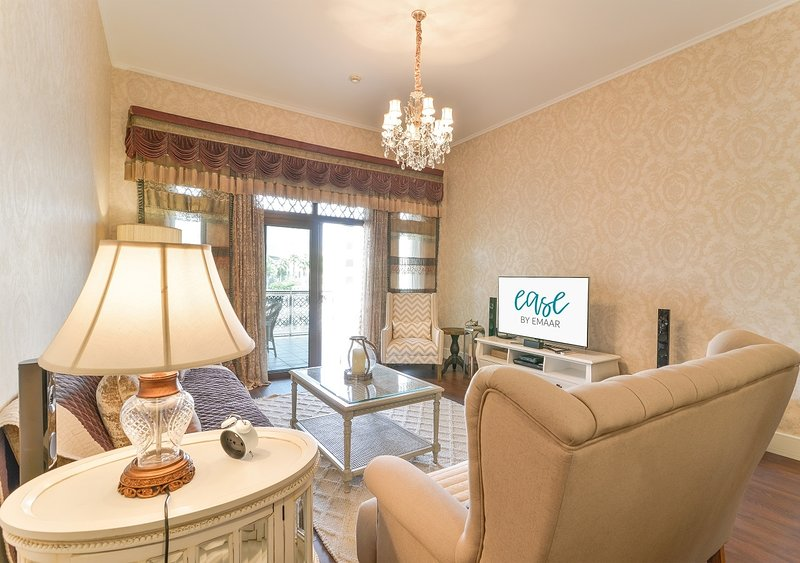 Shakespeare [Ease by Emaar] | Luxurious 2 Bedr..., holiday rental in Hatta