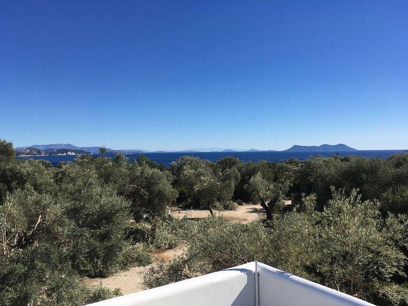 Villa Mavrades - Sivota - Lefkada, location de vacances à Sivota