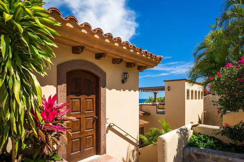 Be mesmerized by the variety of bright foliage and greenery found at Villa Vista del Mar!