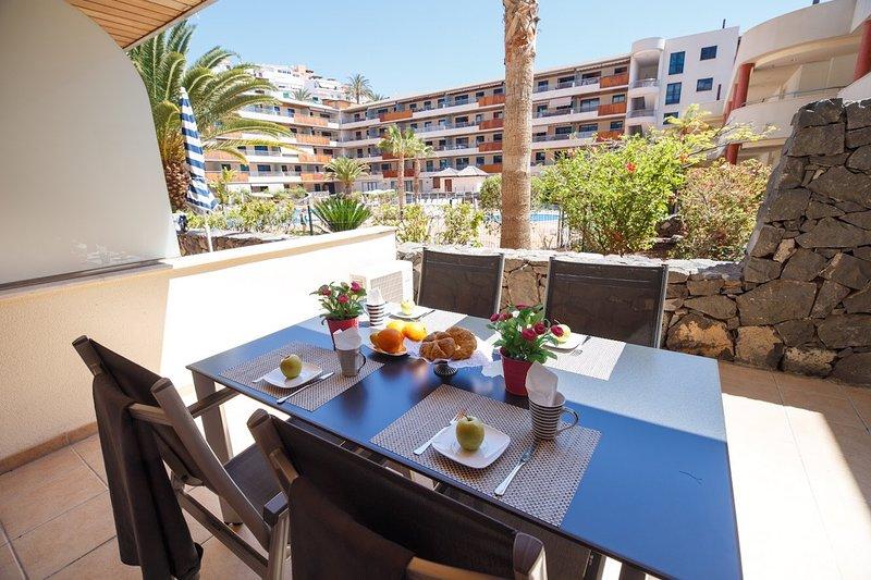 Balcon Los Gigantes B09 FREE WIFI, alquiler de vacaciones en Puerto de Santiago