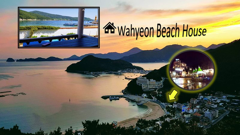 Wahyeon Beach House (Right by the beach)!, holiday rental in South Korea