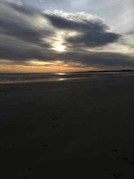 Stunning Beadnell Bay jan 2019.