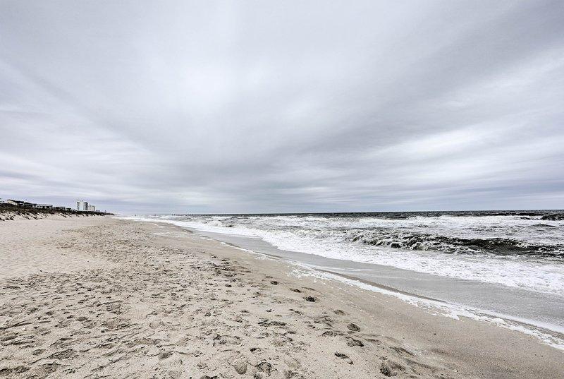Sunny days at the shore await at this Kure Beach vacation rental home!