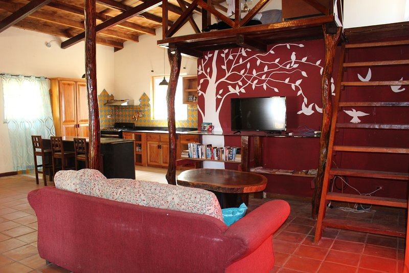 Two bedroom with loft home on Via Arenal in Pedasi