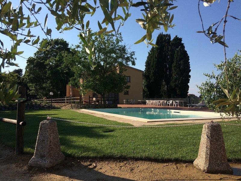 IL POGGETTO CASA VACANZE, holiday rental in Casciana Alta