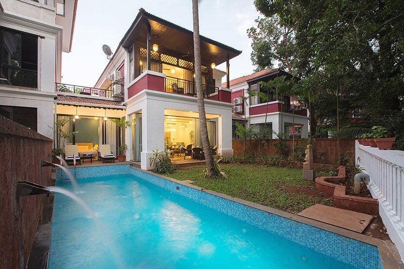 Priavte villa met zwembad