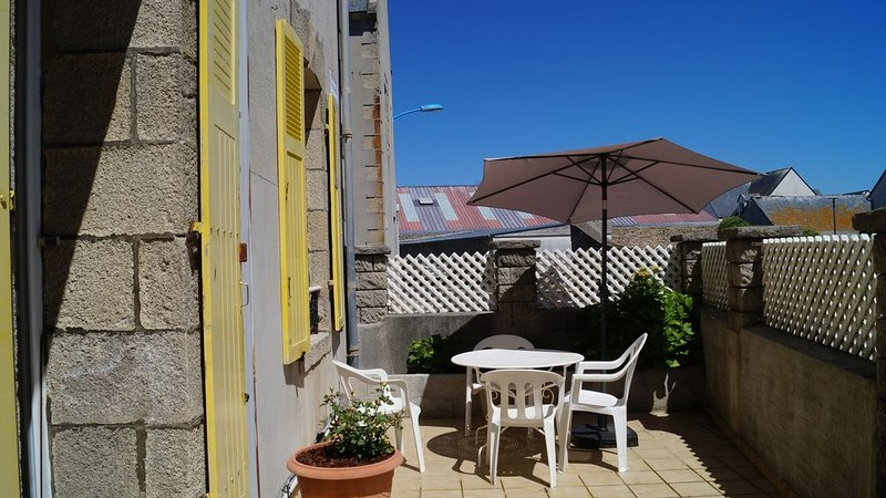 Tychrystel, holiday rental in Saint-Guenole