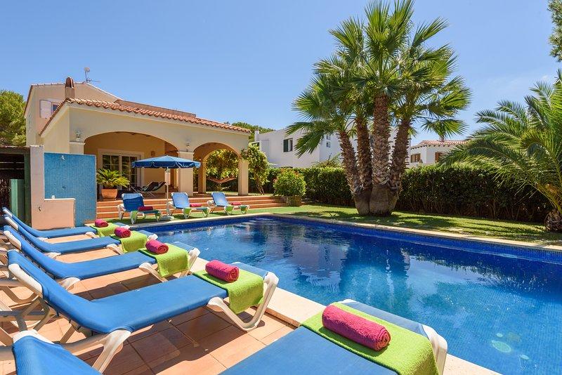 Villa Los Suenos, location de vacances à Es Grau