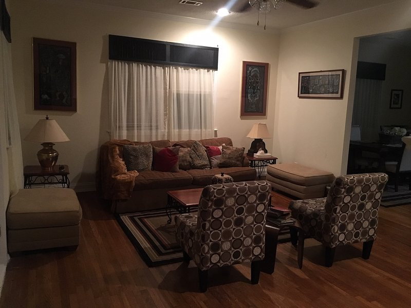 Super Bowl lodgings for family & friends - entire house (2 houses side by side), holiday rental in Fort McPherson
