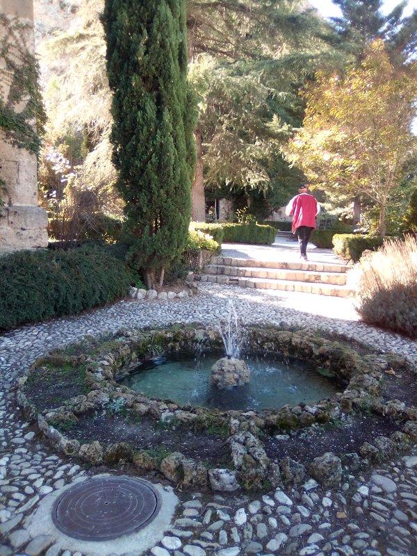 church gardens in castril