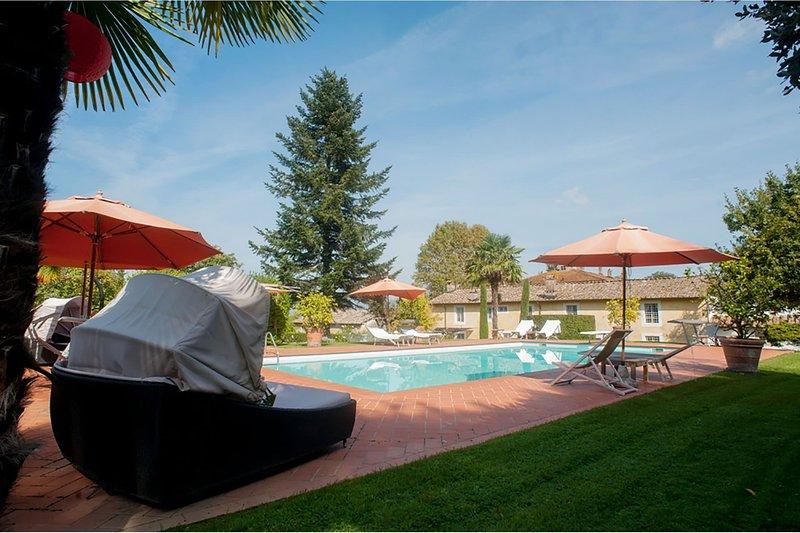 Villa la Fattoria, vacation rental in Colle di Compito