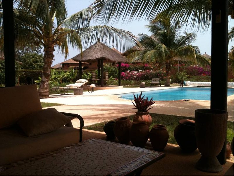 Amazing villa with swimming-pool, holiday rental in Ndangane