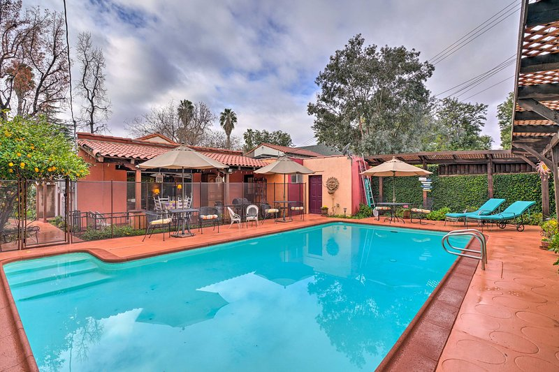 Classy SoCal Spanish Villa-Pool & Grand Piano, vacation rental in Chino Hills