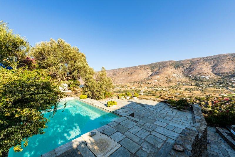 Annezas Mansion, holiday rental in Ormos Korthiou