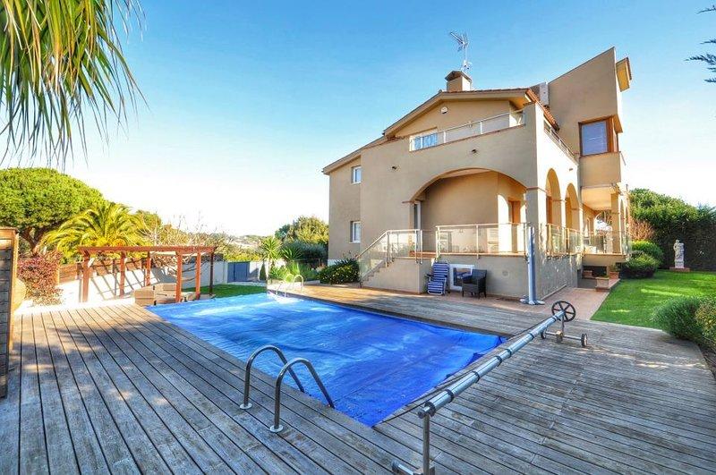 Villa de lujo Montgoda, vacation rental in Lloret de Mar
