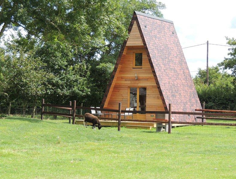Lodge 'le Pommier' 2 Km de la mer, des sites du débarquement, proche de Bayeux, holiday rental in La Cambe