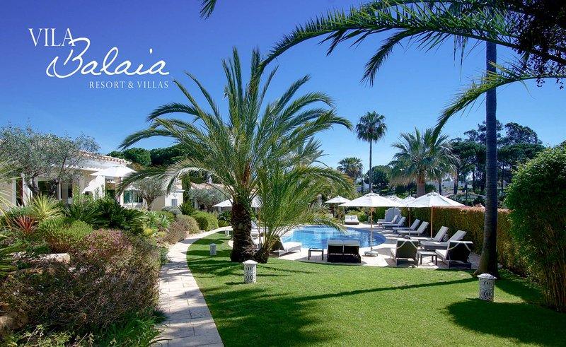 Vila Balaia Gardens and Pool