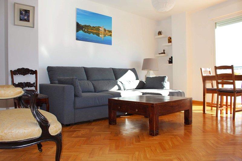 Acogedor, luminoso y céntrico apartamento en Navacerrada pueblo, alquiler vacacional en Manzanares el Real