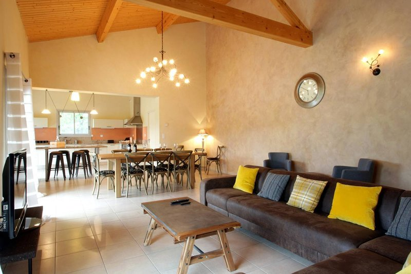 Couiza luxury house with pool, vacation rental in Serres