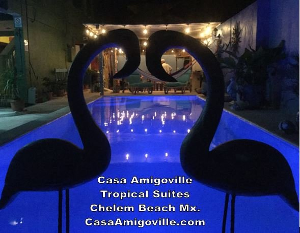 Casa Amigoville King of Somewhere Hot Suite, casa vacanza a Chelem