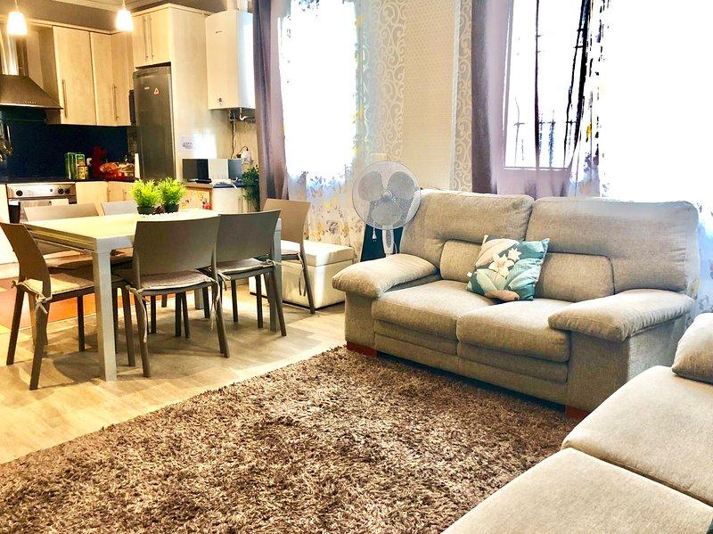 Precioso y acogedor piso centro Bilbao, holiday rental in Barakaldo