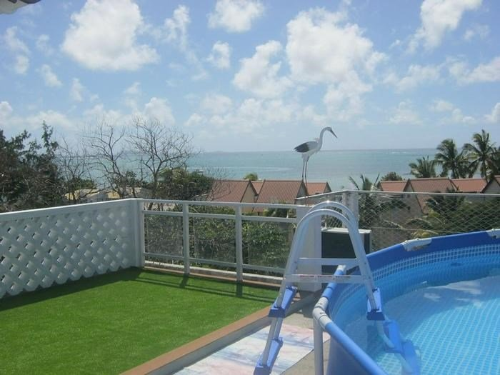 Beautiful apartment with sea view, holiday rental in Grand Gaube