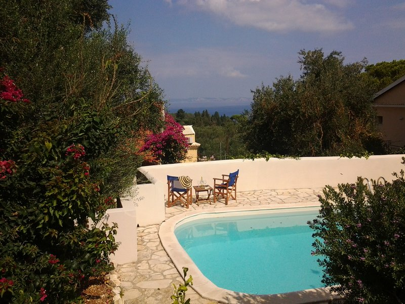 Lakkos Studio with pool close to Lakka, vacation rental in Lakka