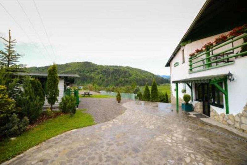 Stunning spacious Villa In the mountains – semesterbostad i Sacele
