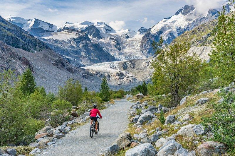Bella zona per andare in mountain bike