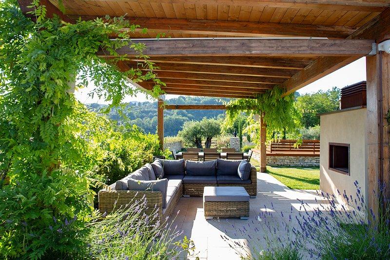 Luxury villa Marasca, holiday rental in San Presto