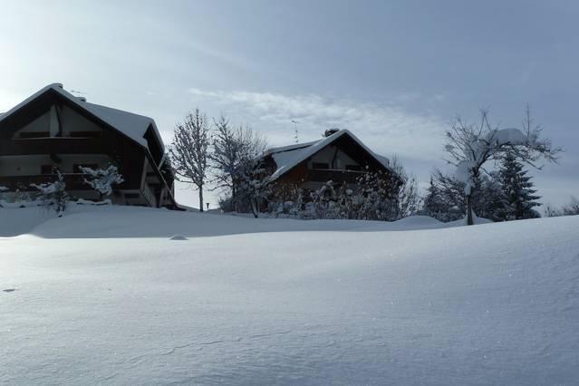 'I Caprioli' hill - winter view