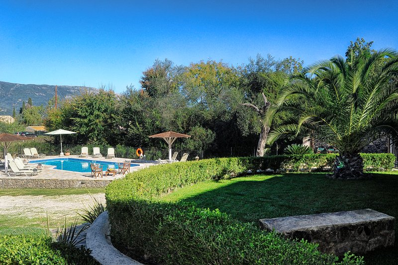 Garden & Pool at St. Nicholas House