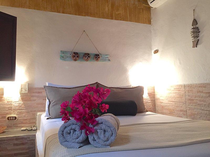 POSADA LAGUNITA ~Room Doble+Breakfast~, alquiler de vacaciones en Parque Nacional Los Roques