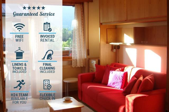 'CASATARVISIO CT1' Monolocale immerso nel verde 2p, holiday rental in Tarvisio