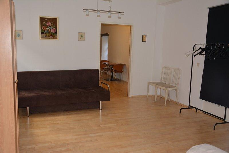 Ruhiges Studio im Zentrum, alquiler vacacional en Gundersdorf