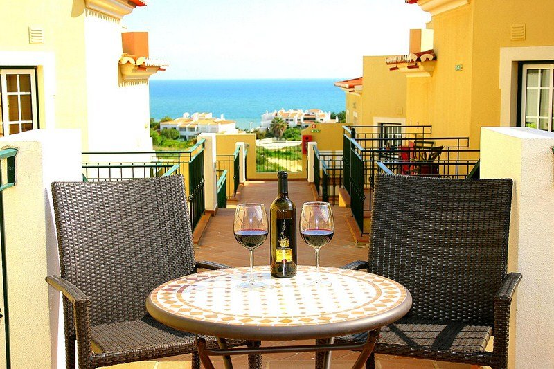 Stunning sea views from terrace