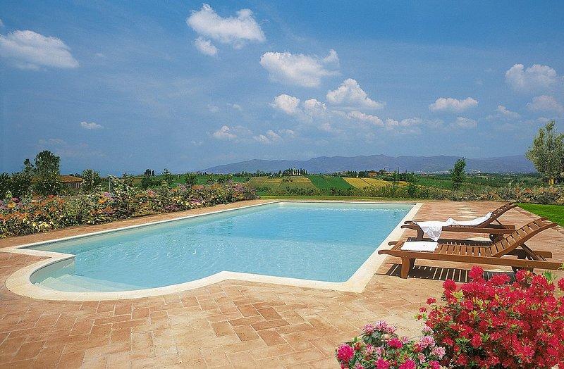 Villa Eterea, location de vacances à Foiano Della Chiana