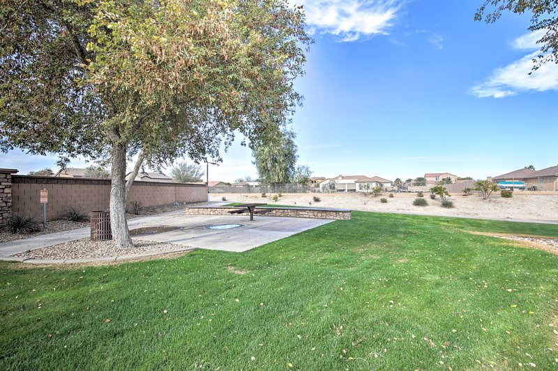 Parks are just minutes away from this Laveen Village vacation rental home!