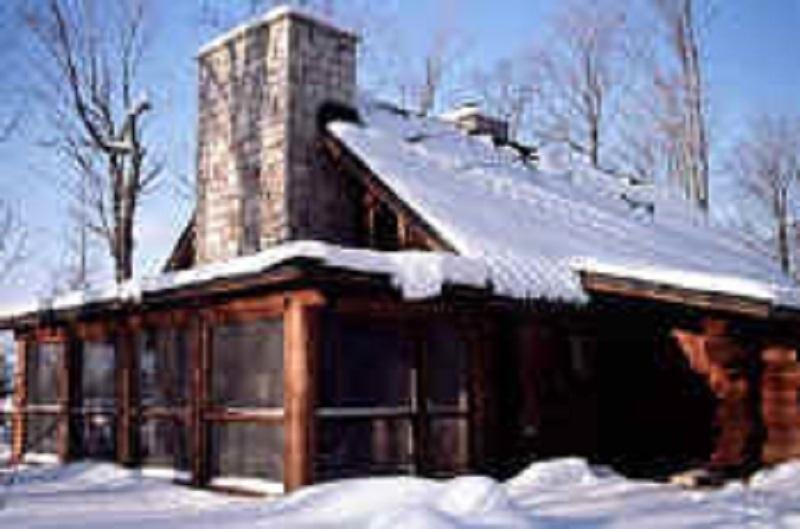 MCCARTHY CABIN IN THE WINTER