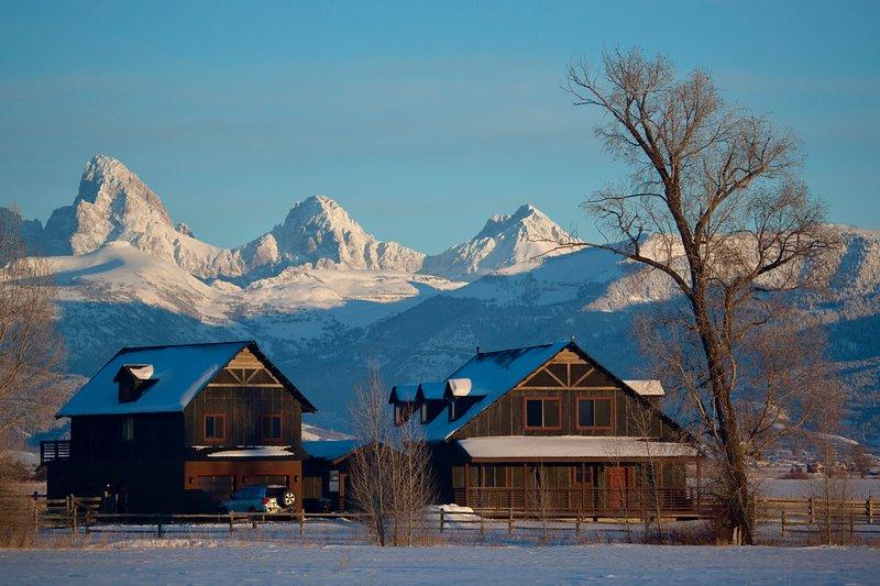 Postcard Views, Teton Valley ID – semesterbostad i Tetonia